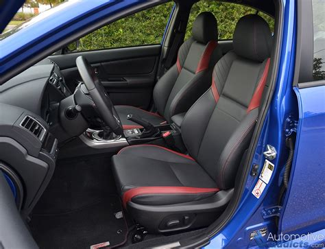 subaru wrx interior 2016 2016 subaru wrx sti limited review test drive