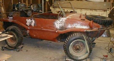 vw schwimmwagen found in 187 restoration