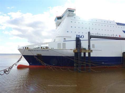 Pride Of p o ferries pride of rotterdam statistics deck plan