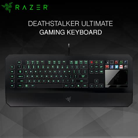 Keyboard Razer Deathstalker Ultimate T1 razer deathstalker ultimate gaming keyboard