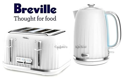 White Kettle And Toaster Sets Breville Impressions Kettle And Toaster Set White Kettle