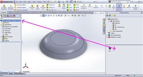 Solidworks Tutorial Forming Tool | tutorial creating forming tool sheet metal in