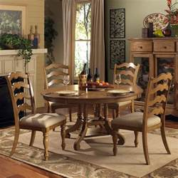 Dining Room Set Hillsdale Hamptons 5 Piece Round Dining Room Set In