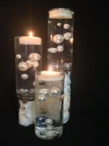Floating pearl centerpiece tanoan wedding centerpiece pearls