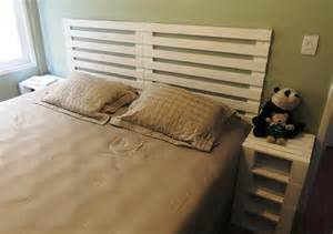 Make Platform Bed Frame by 6 Diy Pallet Bed Ideas With Headboards 99 Pallets
