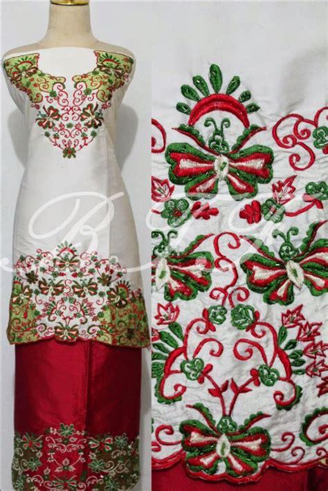 Kain Tafeta Silk Tafeta Dove bukittinggi fashion bordir tafeta silk