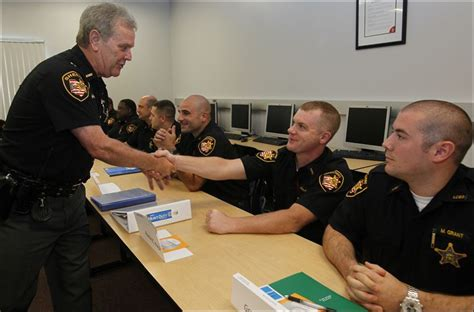 section officer coaching classes 25 begin training as peace officers toledo blade