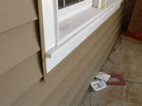Pvc Window Sill Trim Azek Pvc Window Trim With Apron Sill With Clay