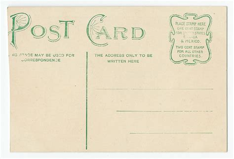 A Postcard From by Postcard Postcardiness S