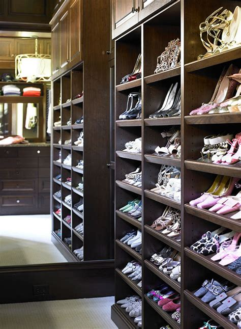Shoe Shelf Closet by Built In Shoe Shelves Design Ideas