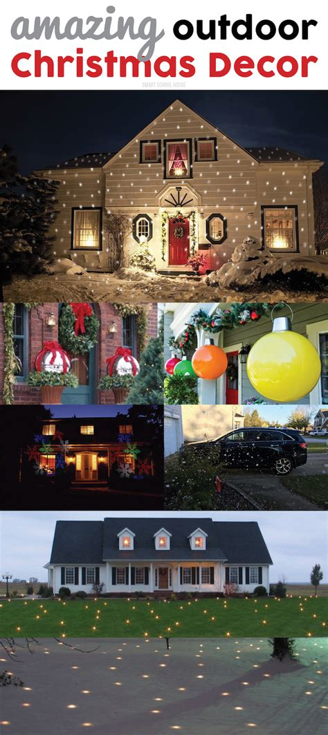 amazing out side holiday amazing outdoor decor ideas smart school house