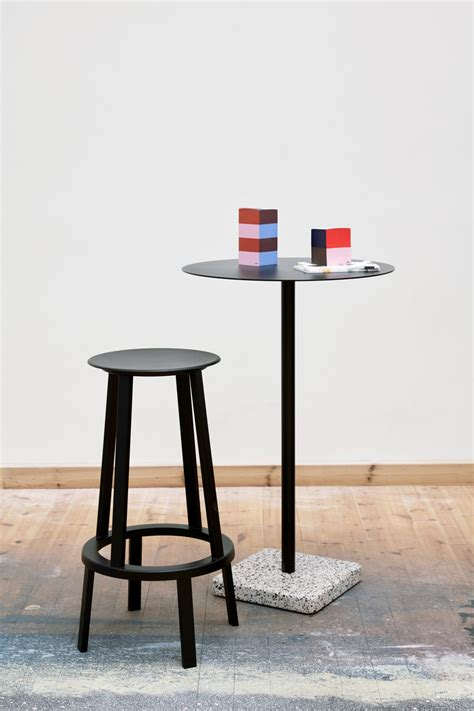 design terrazzi top crafted in highly functional steel and powder coated