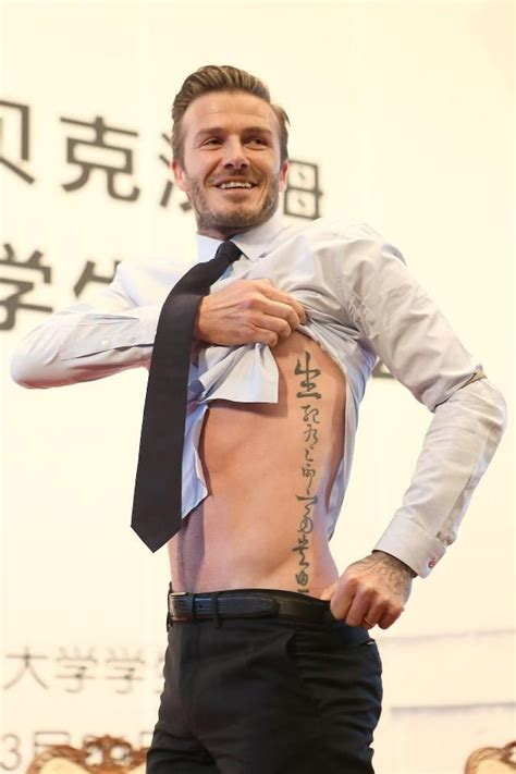 david beckham tattoo regret 101 best beckhams images on pinterest victoria beckham