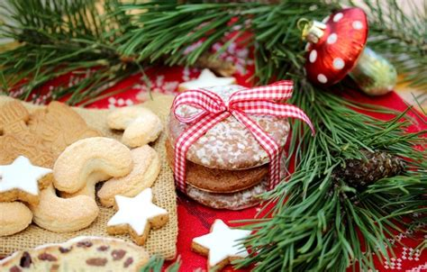new year ribbon biscuit wallpaper new year cakes cookies new year