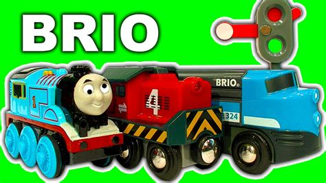 thomas the train brio brio cargo railway deluxe train set not thomas the tank