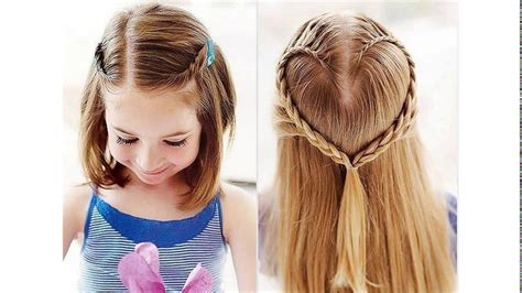 back to school hairstyles for very short hair cute hairstyles for school for short hair youtube