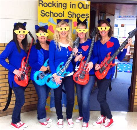 halloween themes for teachers pete the cat costumes are a huge hit for a team of