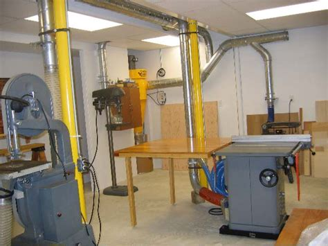 woodworking shop dust collection system woodworking hobby shop dust collection air handling systems