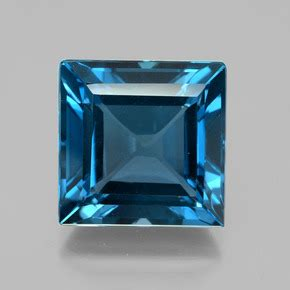 Sherry Topaz 15 16 Ct blue topaz 24 2 carat square from brazil gemstone
