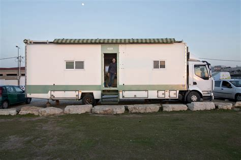truck house truck home ingenious israeli turns truck into exquisite ergonomic house on wheels