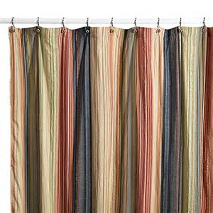 retro chic fabric shower curtain bed bath beyond