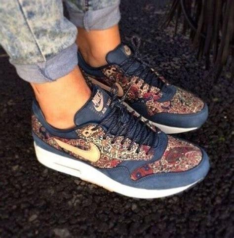 Nike Airmax90 Motif Flower shoes nike sneakers white sneakers nike air max nike