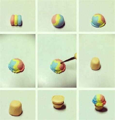 zbrush ice cream tutorial ice cream sundae polymer clay tutorial polymer clay food
