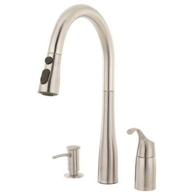 How To Fix Delta Kitchen Faucet by Kohler Simplice Single Handle Pull Down Sprayer Kitchen Faucet In Vibrant Stainless K R648 Vs
