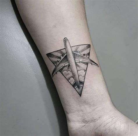aviation tattoos designs 30 amazing airplane tattoos for who to travel