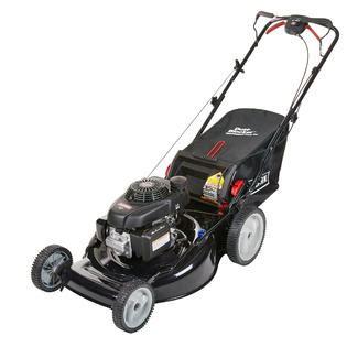 craftsman   cc rear wheel drive lawn mower  high rear wheels
