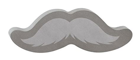 Anneui Mustache Sticky Notes Blue post it notes shapes