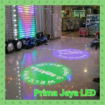 twinkle led jaring 144 light prima jaya led