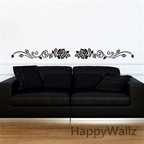wall border sticker popular flower wall borders buy cheap flower wall borders lots from china flower wall borders
