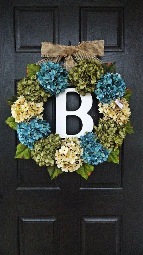 wreath ideas for front door best 20 letter wreath ideas on pinterest initial wreath