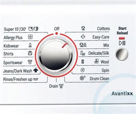bosch washing machine symbols bosch was28461au 7 5kg front load washing machine