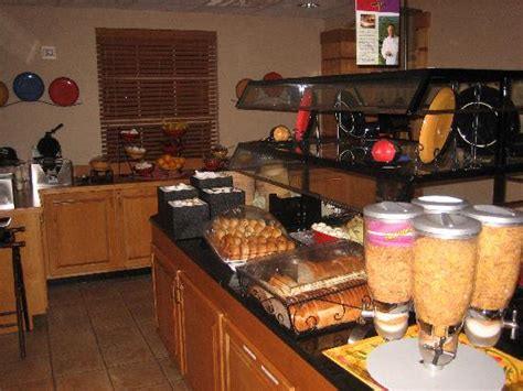 the breakfast buffet picture of staybridge suites san