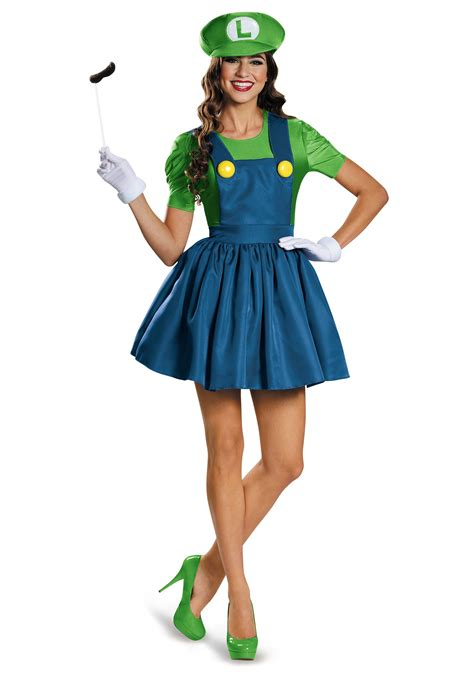 Dress Costume s luigi dress costume