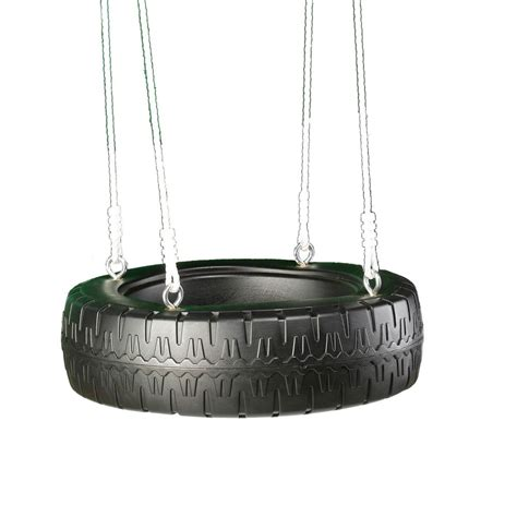 Swing N Slide Tire Swing With Rope The Home Depot Canada