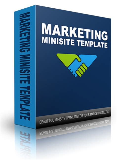 new marketing minisite template 2014 download templates