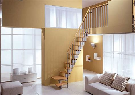 Quarter Turn Stairs Design Small Spiral Stairs Spiral Staircase For Small Spaces Trendy Home Interior Design Best