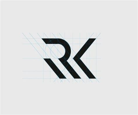 layout and logo rk logo 4 logo design pinterest