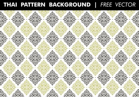 free pattern vector ai thai pattern background free vector download free vector