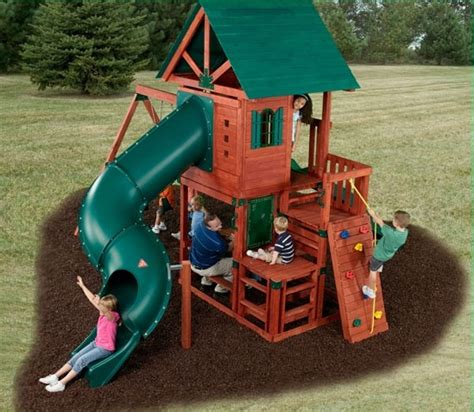 swing set tube slide 89 best images about jungle gym designs on pinterest diy