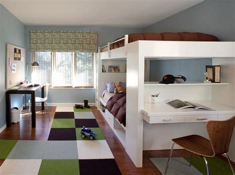 Houzz Kids Bedrooms | contemporary boy s bedroom contemporary kids san