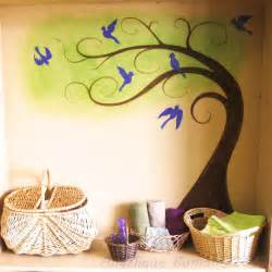 Painting A Mural On A Wall With Acrylic Paint Lotus Decorators Lotus Decorators In Chennai Wallpaper