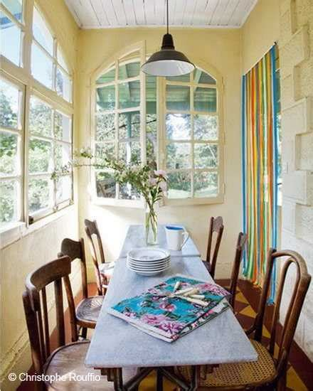 small cottage design ideas colorful small cottage decor bright wall painting ideas