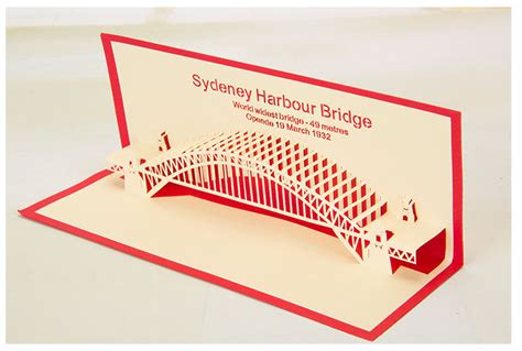 How To Make An Origami Bridge - card lifier picture more detailed picture about diy