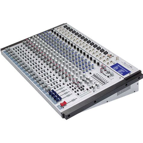 alto l20 20 channel 4 audio mixer with dsp effects l 20