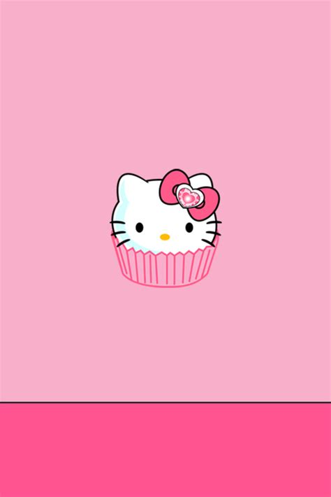 hello kitty cake wallpaper hello kitty wallpaper for iphone wallpapersafari
