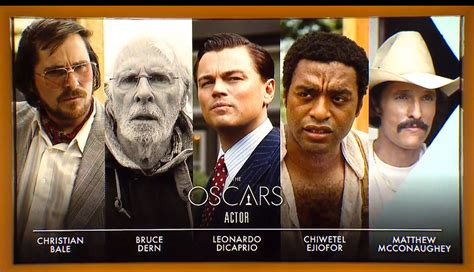 best film oscar award 2014 academy awards nominations for wolf of wall street and